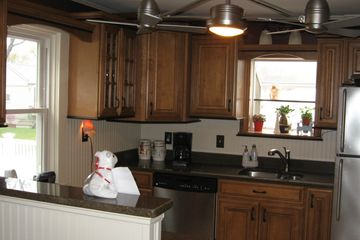 Kitchen remodeling includes, new floors, ceilings, walls, cabinets, countertops, and utilities.