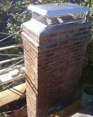 Masonry Chimney restorations & upgrades.