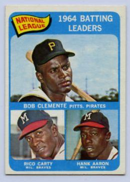 7. 1965 TOPPS BASEBALL CARD #2 - CLEMENTE