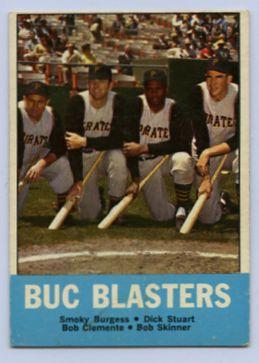 8. 1963 TOPPS BASEBALL CARD #18 - CLEMENTE