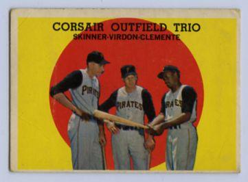 14. 1959 TOPPS BASEBALL CARD #543 - CLEMENTE
