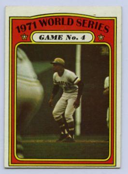 24. 1972 TOPPS BASEBALL CARD #226 - CLEMENTE