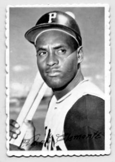 1. 1969 ROBERTO CLEMENTE TOPPS DECKLE EDGE CARD #27