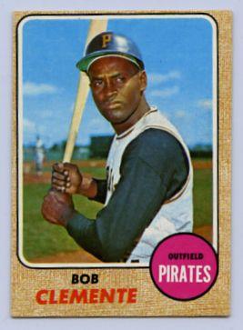 72. 1968 ROBERTO CLEMENTE TOPPS BASEBALL CARD #150