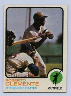 78. 1973 ROBERTO CLEMENTE TOPPS BASEBALL CARD #50