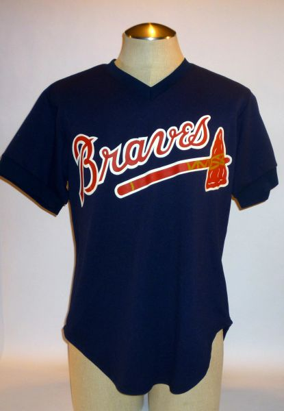 Atlanta Braves game used spring traing jersey #50