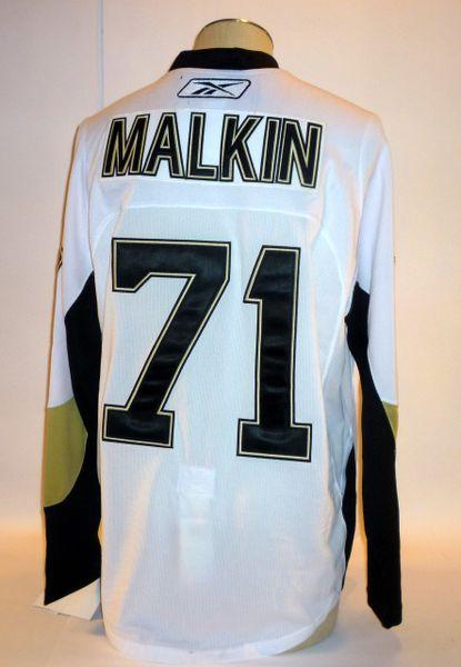 Evgeni Malkin Pittsburgh Penguins jersey Size 52