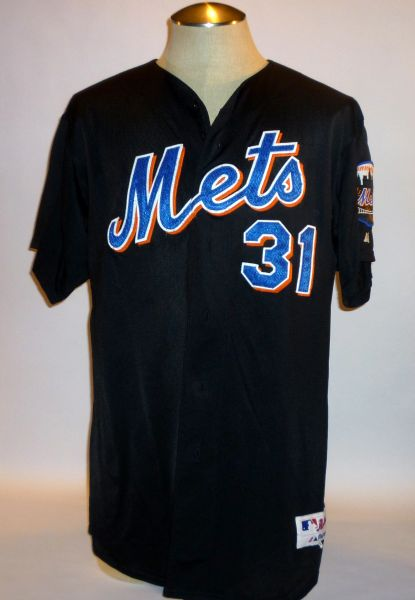 New York Mets game used spring training jersey #31