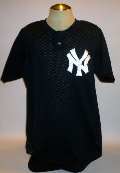 New York Yankees game used spring training jersey #35