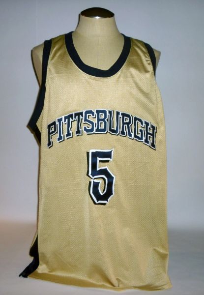 Pitt basketball game jersey, NOB removed, size 50