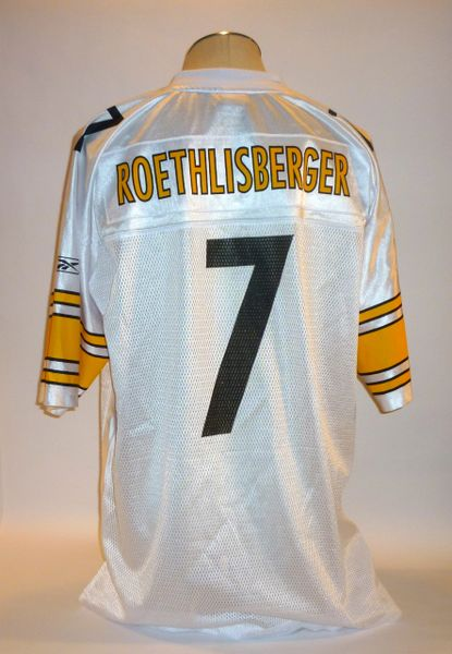 Ben Roethlisberger Pittsburgh Steelers replica jersey Size XL