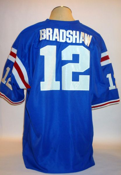 Terry Bradshaw Louisiana Tech jersey, Mitchell & Ness