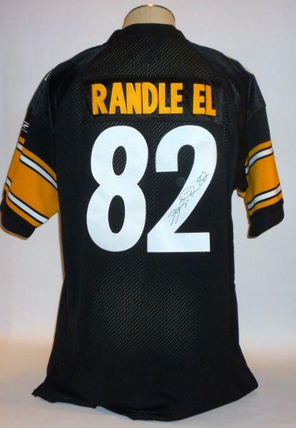 Antwaan Randle El signed jersey, size 52