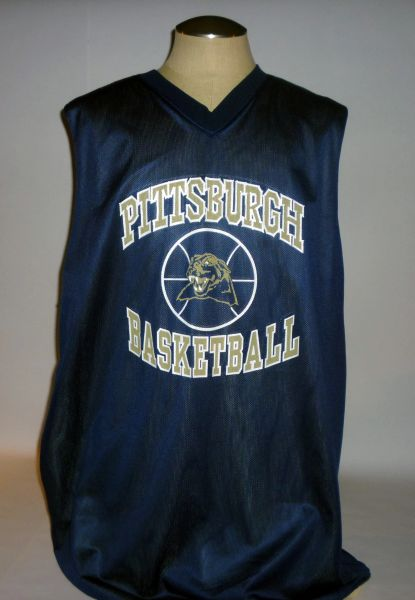 Chris Taft Pitt Basketball signed practice jersey, reversible