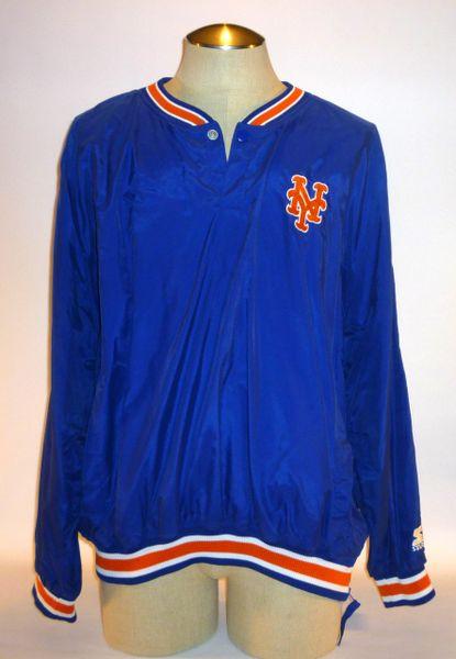 John Olerud, New York Mets pullover, Size XL