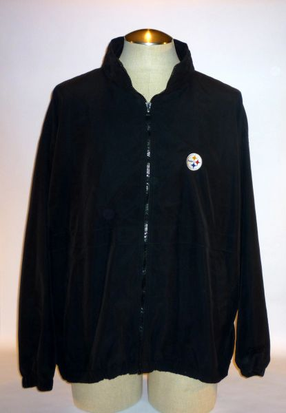 Pittsburgh Steelers black jacket, Size XL