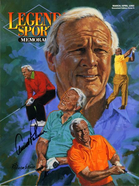 Arnold Palmer signed Legends of Sports Memorabilia price guide