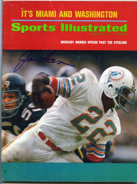 Jack Ham, Pittsburgh Steelers signed Sports Illustrated