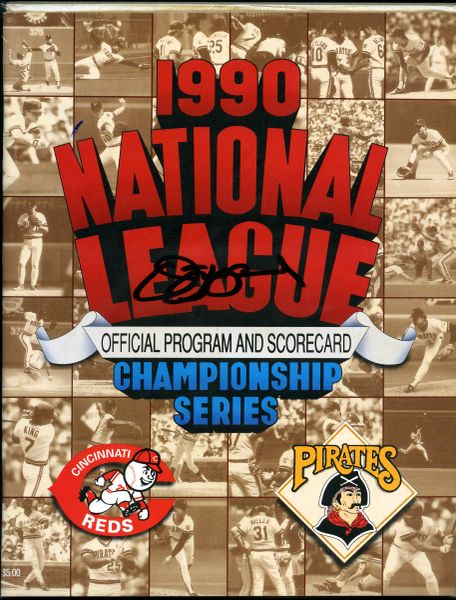 Jim Leyland, Pittsburgh Pirates signed NLCS program