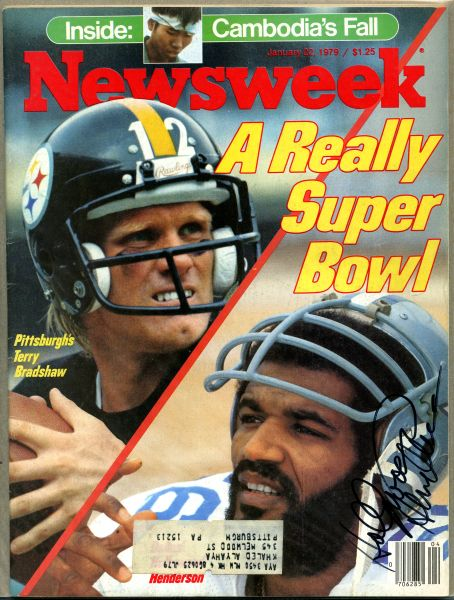 "Thomas ""Hollywood"" Henderson, Dallas Cowboys signed Newsweek"