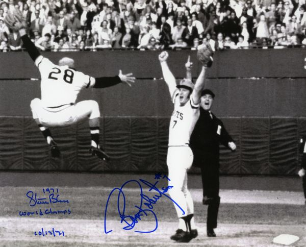 1971 Pittsburgh Pirates World Series signed 8x10 photo