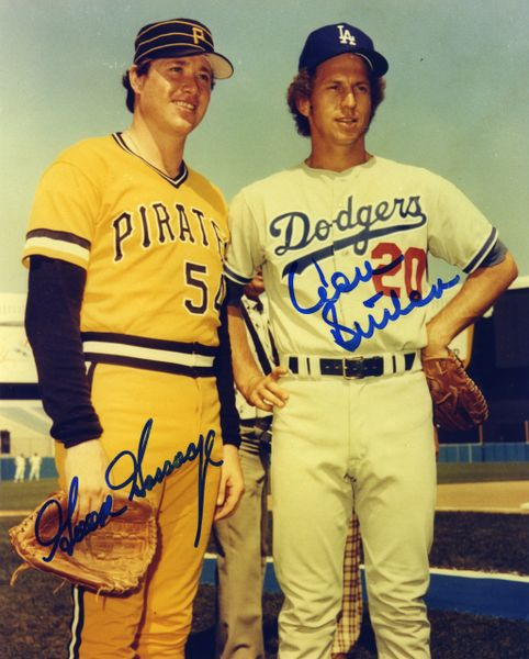 Goose Gossage - Pirates, Don Sutton - Dodgers signed 8x10 photo