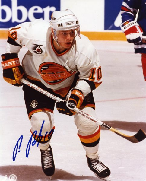 Pavel Bure - Vancouver Cannucks signed 8x10 photo
