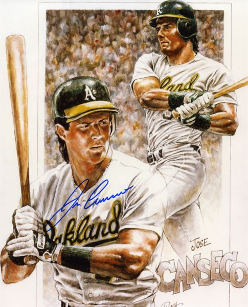 Jose Canseco - Oakland A's signed 8x10 photo