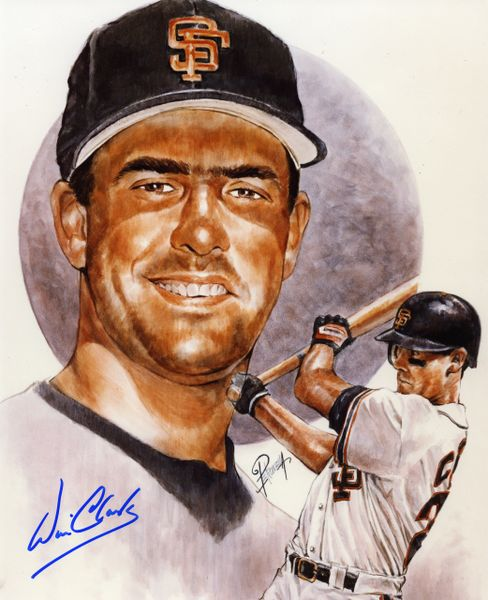 Will Clark - San Francisco Giants signed 8x10 photo