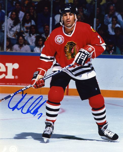 Chris Chelios - Chicago Blackhawks signed 8x10 photo
