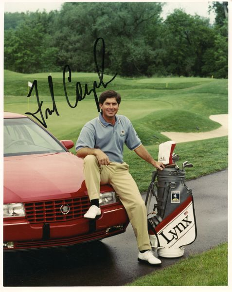 Fred Couples Pro Golfer signed 8x10 photo
