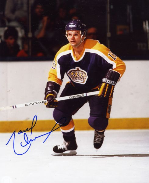 Marcel Dionne - L.A. Kings signed 8x10 photo
