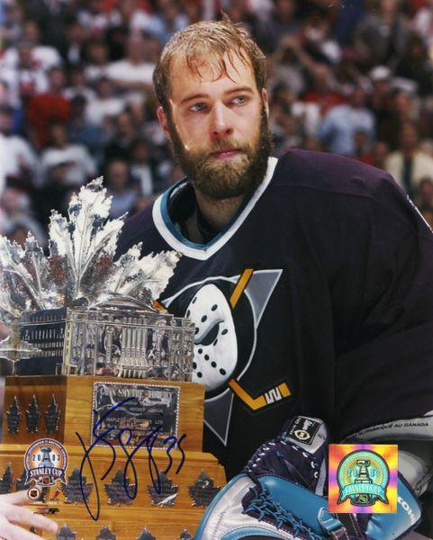 Jean Sebastien Giguere - Anaheim Ducks signed 8x10 photo
