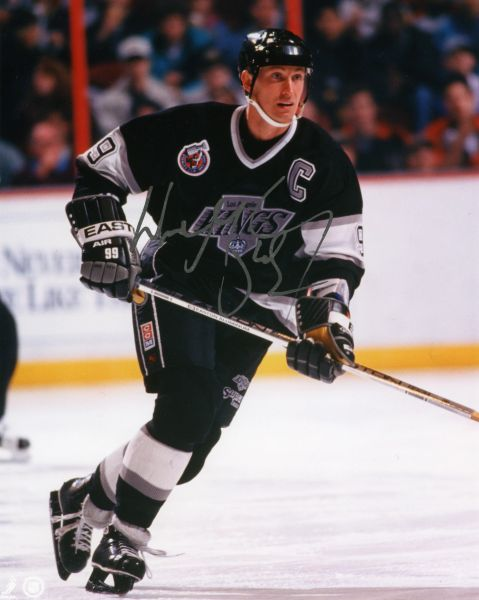 Wayne Gretzky - Los Angeles Kings signed 8x10 photo