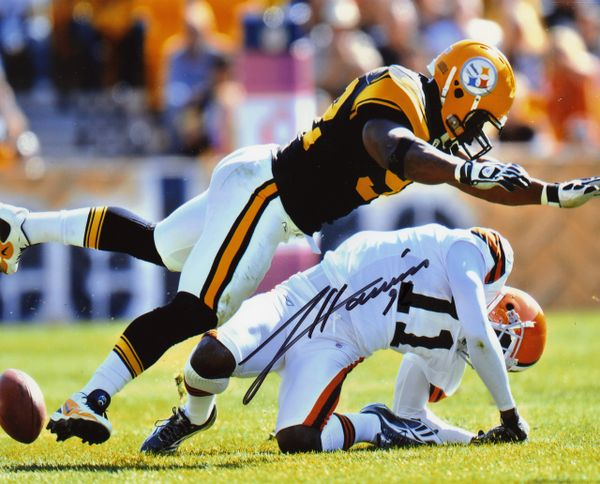 James Harrison - Pittsburgh Steelers signed 8x10 photo