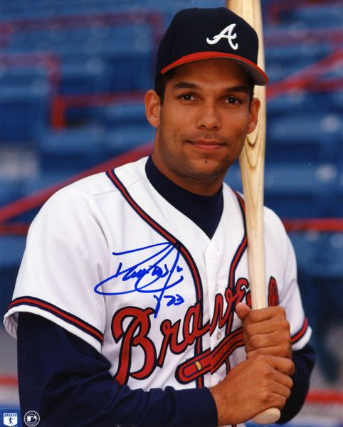David Justice - Atlanta Braves signed 8x10 photo