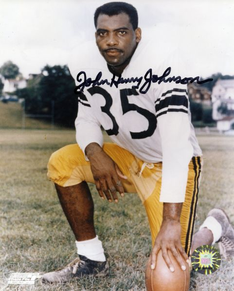 John Henry Johnson - Pittsburgh Steelers signed 8x10 photo