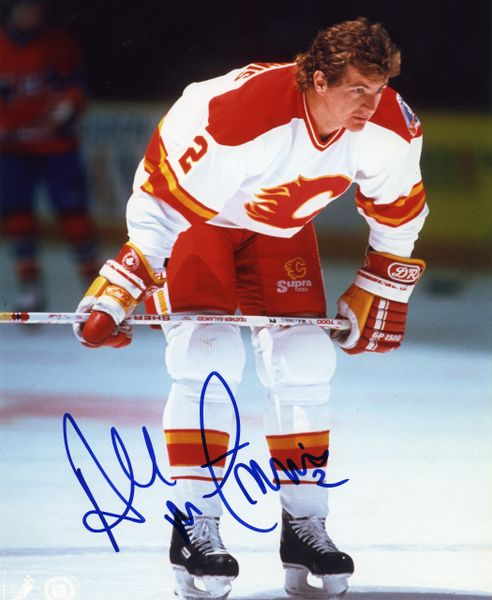Al MacInnis - Calgary Flames signed 8x10 photo