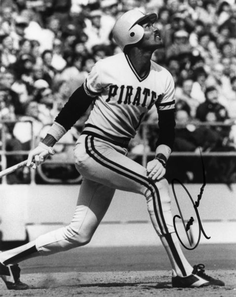 Omar Moreno - Pittsburgh Pirates signed 8x10 photo