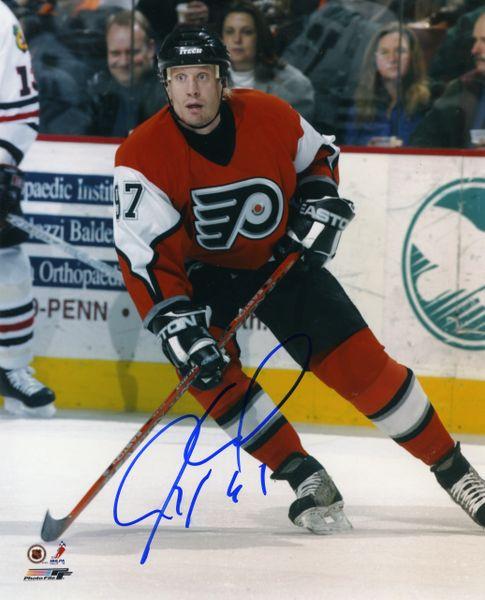 Jeremy Roenick - Philadelphia Flyers signed 8x10 photo