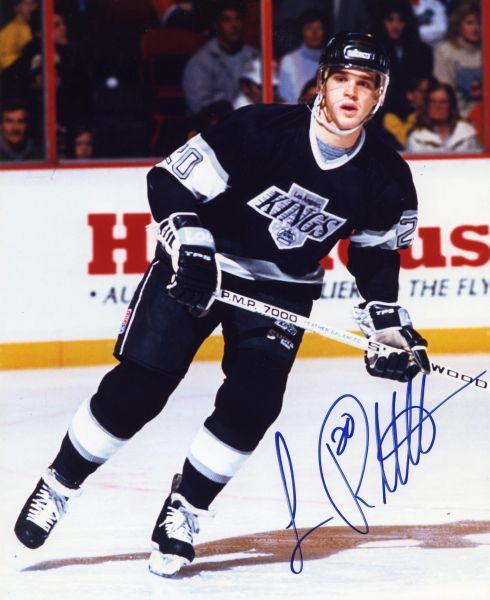 Luc Robitaille - Los Angeles Kings signed 8x10 photo