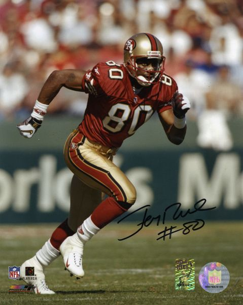 Jerry Rice - San Francisco 49'ers signed 8x10 photo