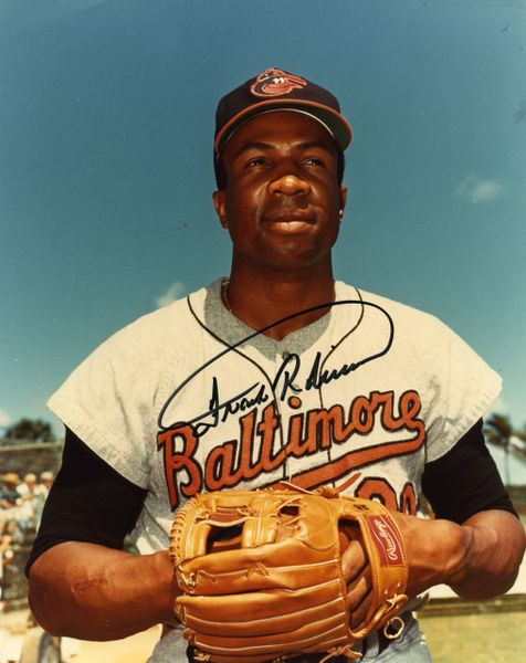 Frank Robinson - Baltimore Orioles signed 8x10 photo