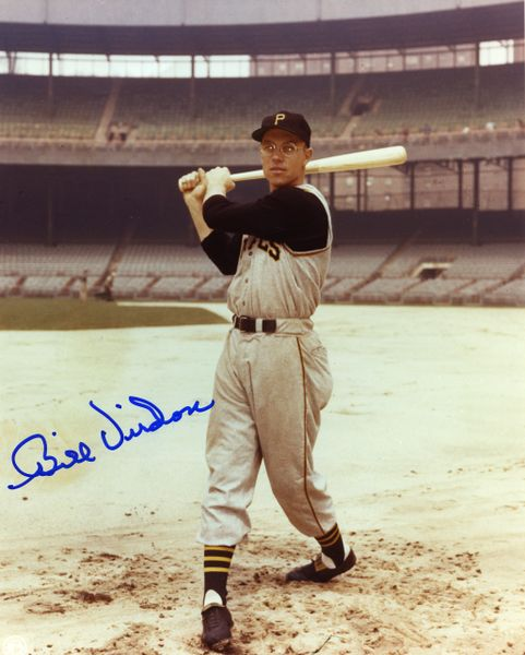 Bill Virdon - Pittsburgh Pirates signed 8x10 photo