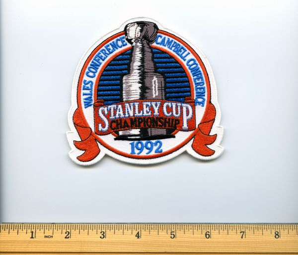 1992 Stanley Cup Championship patch, Penguins vs. Blackhawks