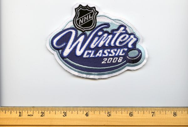2008 NHL Winter Classic jersey patch, Penguins vs. Sabres