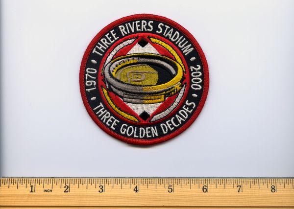 2000 Three Rivers Stadium 30 year anniversary patch