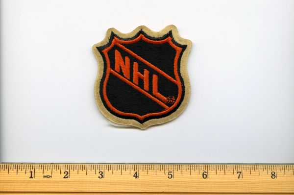 "1970's NHL 3"" patch"