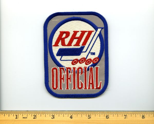 RHI hockey Official patch