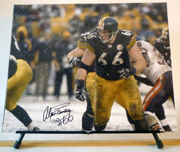 Alan Faneca, Pittsburgh Steelers signed 16x20 photo